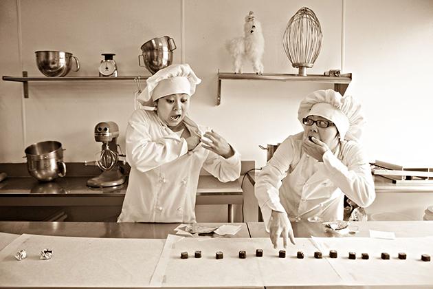 Socola Sisters as Ethel & Lucy