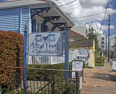 Blue Frog exterior