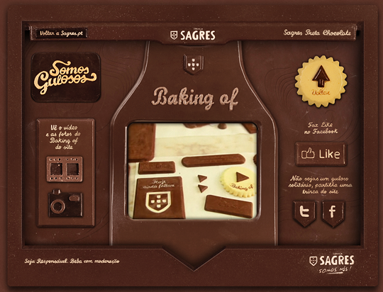 chocolate interface