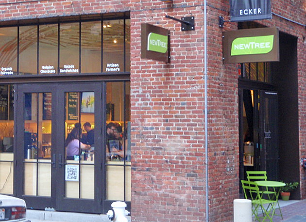 New Tree Cafe exterior