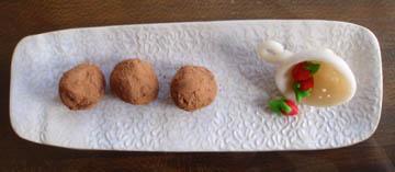 Chocolate Chestnut Truffles