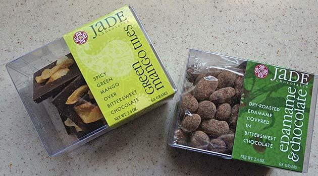 Jade Green Mango & Edamame Snacks