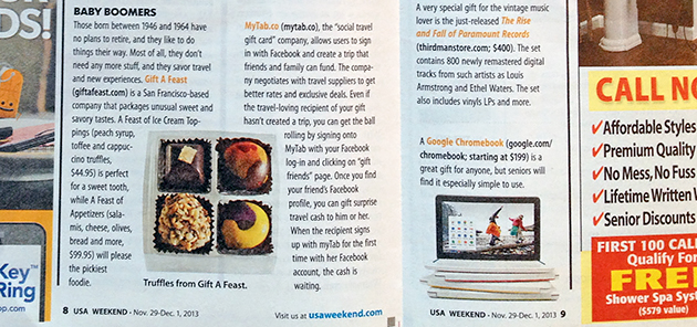 I'd recognize CocoTutti's bonbons anywhere — even in a national news magazine.