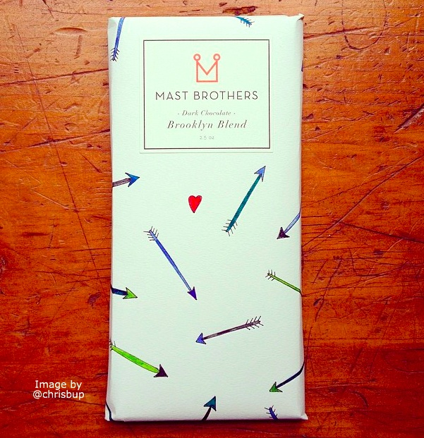 Sketchbook Project and Mast Bros. chocolate bar, your blank canvas.
