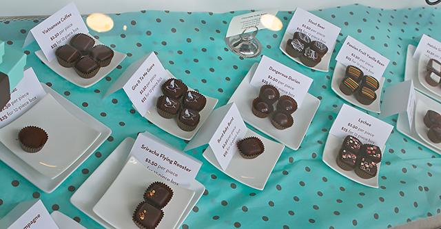 Socola truffles