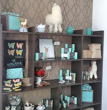 Socola wall display