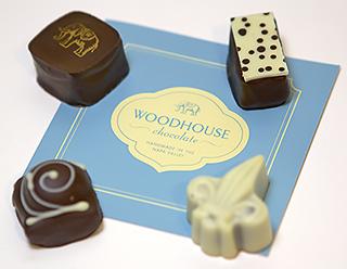 4 Woodhouse chocolates