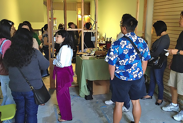 In the midst of remodeling, Jade threw a party showcasing some of the chocolates, desserts and baked goods they will sell in their new space.
