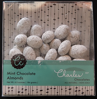 Charles Chocolates Mint Almonds