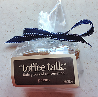 Toffee Talk Pecan