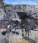 Francis Bacon Figure in a Landscape