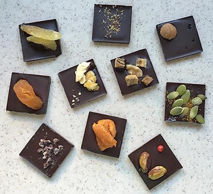 Jade Chocolates Tiles