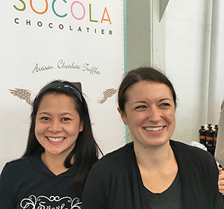 Wendy and Jessica Socola Chocolatier