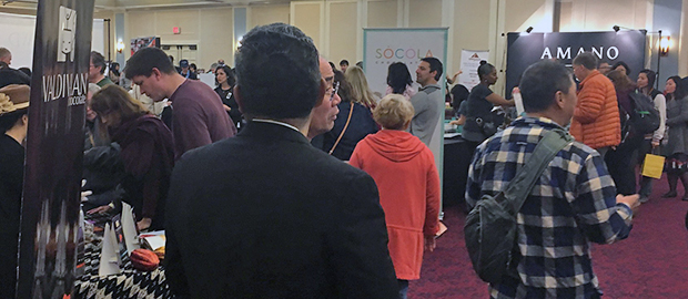 march 2017 International Salon crowd