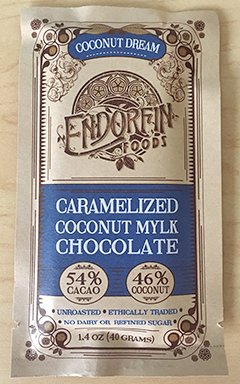 Endorfin Caramelized Coconut Mylk Chocolate bar