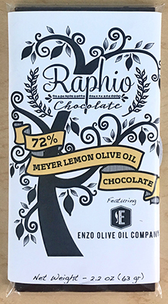 Raphio Meyer Lemon Olive Oil Chocolate