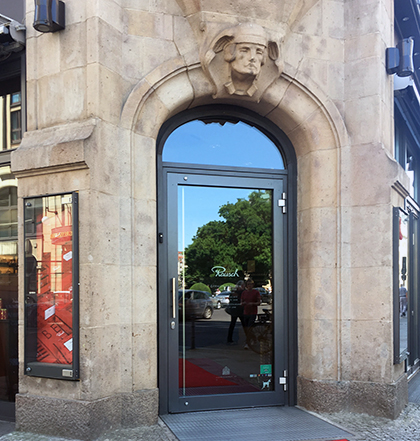 Rausch Schokoladehaus front door