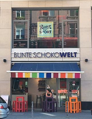 Ritter Sport storefront