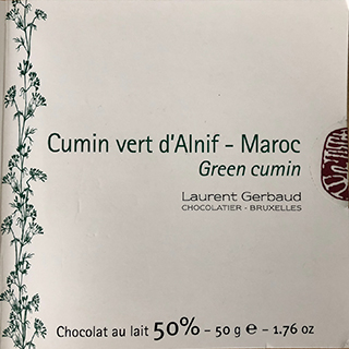 Cumin Milk Chocolate