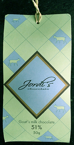 jordi goat milk chocolate