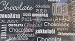schocolade sign