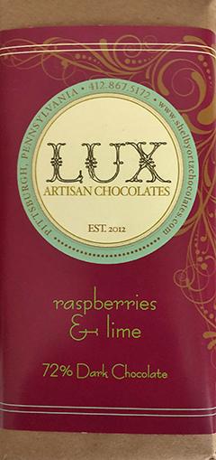 Lux Raspberries & Lime bar