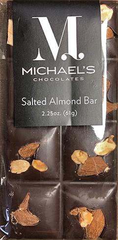 Michaels Salted Almond Bar