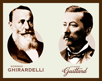 Ghirardelli and Guittard
