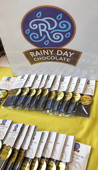 Rainy Day Logo and Bars