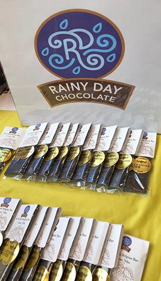 Rainy Day Logo and Bars