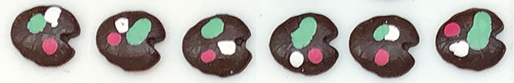 lily pad chocolates