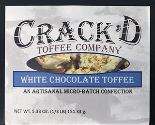 Crack'dToffee Company Box