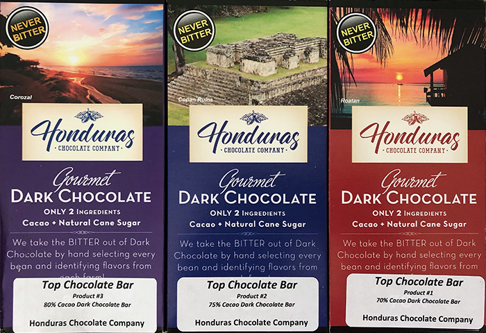 Honduras Chocolate Company Bars