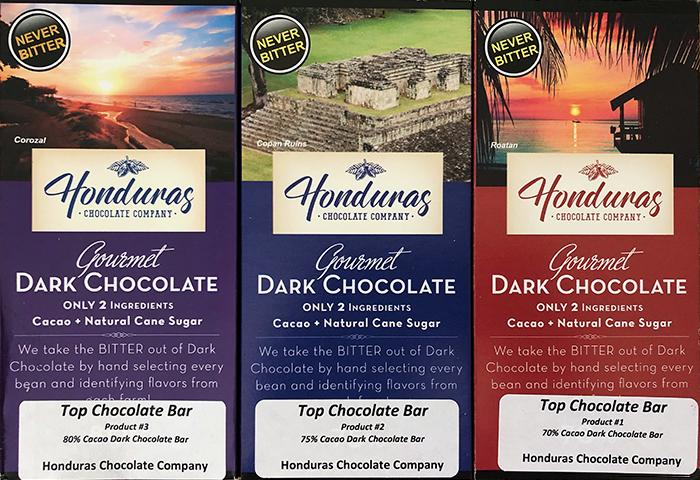 Honduras Chocolate Company Bars