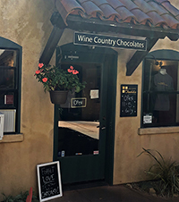 Wine Country Chocolates Sonoma Plaza