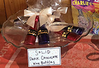 chocolate wine bottles