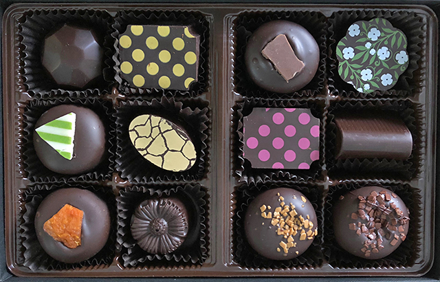 wine country bonbons
