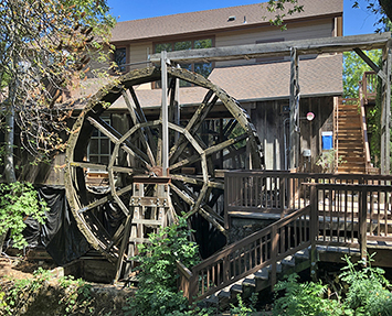 Jack London water wheel
