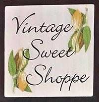 Vintage Sweet Shoppe sign