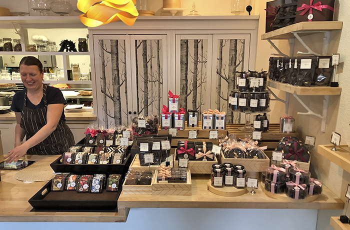 Wendy and La Foret display