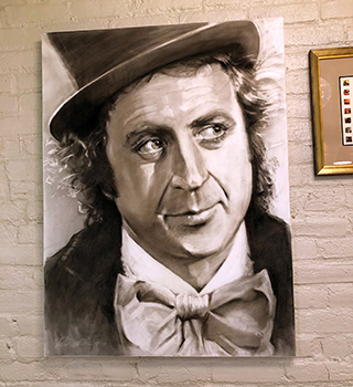 Willie Wonka portrait