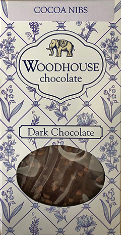Woodhouse Cocoa Nibs bar