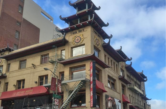 Jade's new home in Chinatown