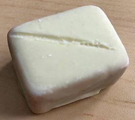 Smoked White Chocolate truffle