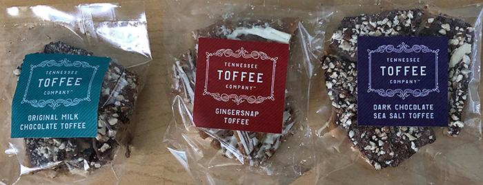Tennessee Toffee trio