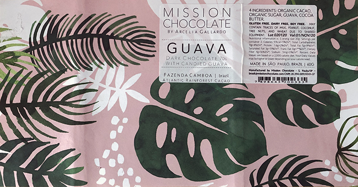 Mission Chocolate Guava wrapper