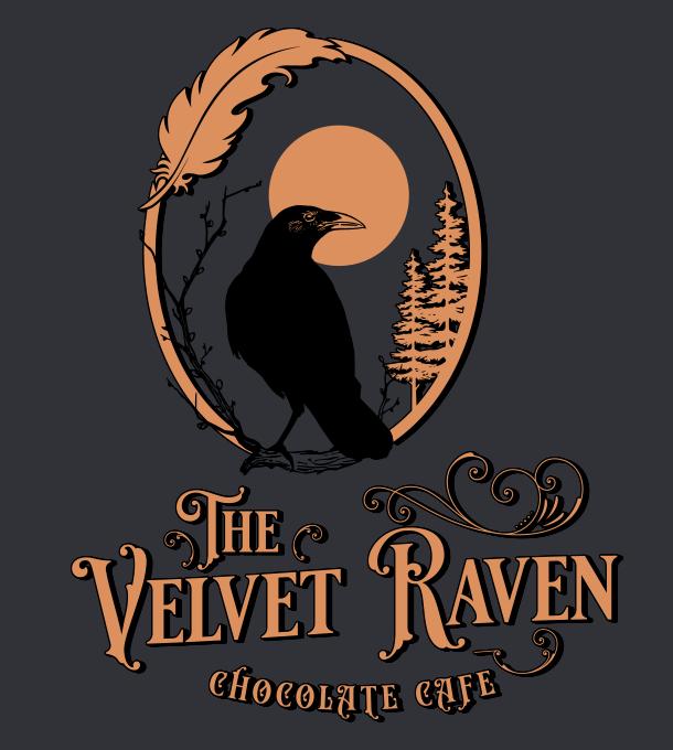 The Velvet Raven logo