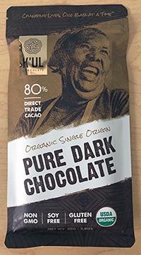 Pure Dark Chocolate bar