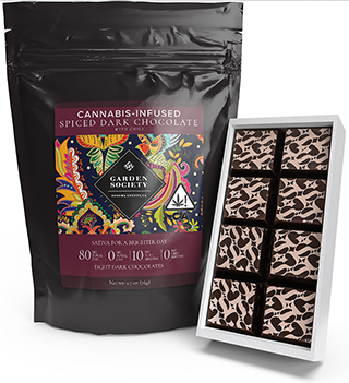 garden society dark chocolate
