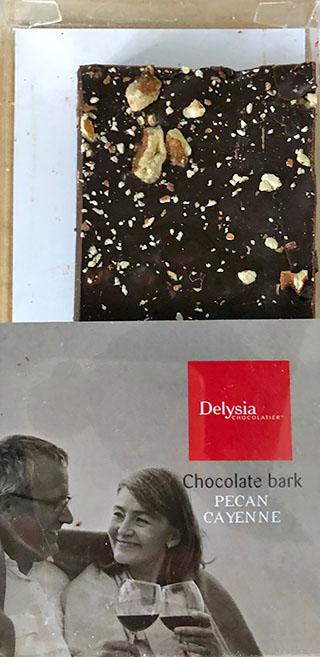 Delysia Pecan Cayenne bark